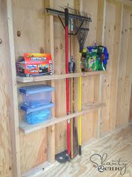 shed organization idea storage shed