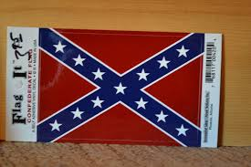 Confederate Battle Flag Decal
