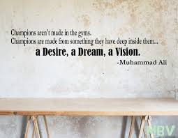 Ali Wall Quote Ali Wall Decal Desire Dream Vison Wall Art Etsy In 2020 Wall Decals Wall Quotes Etsy Wall Art