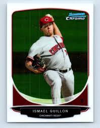 2013 Bowman Chrome Prospects Ismael Guillon #BCP33 on Kronozio
