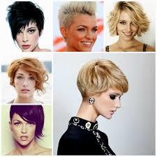 حلاقة الشعر للشعر الداكن القصير حلاقة النساء للشعر القصير اتجاهات الموضة الصورة قصة شعر قصيرة ونوع وجه