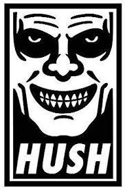 Amazon Com Hush Buffy The Vampire Slayer Horror Vinyl Decal Bumper Computer Sticker Cling Scary Halloween Everything Else