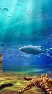 draw ocean wallpaper for iphone x 8 7