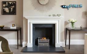 cleaning a stone fireplace surround
