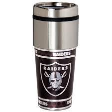 Nfl Oakland Raiders Stainless Steel Tumbler Walmart Com Walmart Com