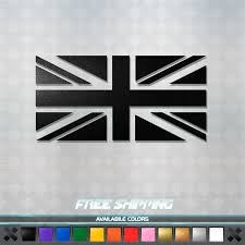 British Union Jack Uk Large Rectangle Car Bumper Window Sticker Decal Vinyl For Sale Online Ebay