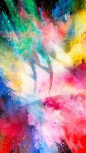 color burst wqhd hd wallpaper 480x854