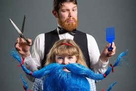 Young girl shakes up social norms with her quest for a beard   Stuff.co.nz