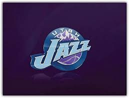 Amazon Com Skyhighprint Utah Jazz Nba Sport Decor Vinyl Print Sticker 5 X 4 Kitchen Dining