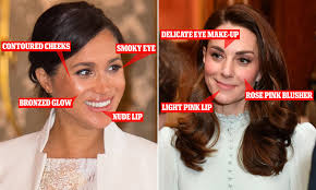 kate middleton and meghan markle s very