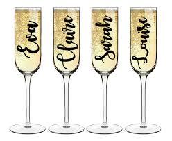 diy bridal party glass decal vinyl