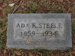 Ada Kennedy Steele (1859-1934) - Find A Grave Memorial