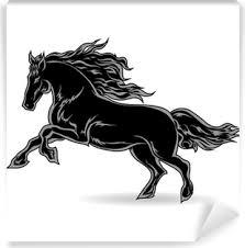 Kleurplaat Galopperend Paard