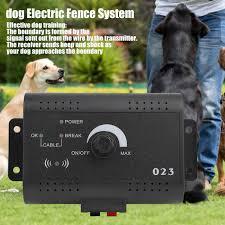 Faginey 2 Dog Electric Fence System Training Electric Fence Waterproof Rechargeable 2 Dog Training Electric Fence System Pet Containment Us Walmart Com Walmart Com