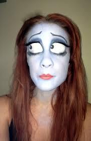 corpse bride makeup 僵尸新娘粉丝art