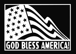 God Bless America Die Cut Vinyl Decal Sticker Texas Die Cuts