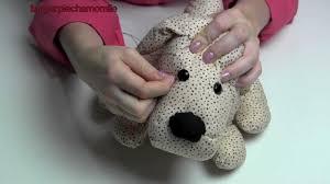 stuffed dog using pattern m4893