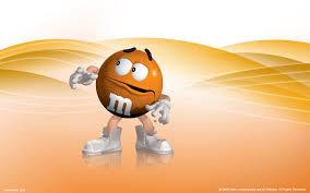 orange m m wallpaper m ms wallpaper