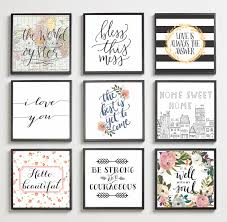 classic inspirational home quotes creative wall decor wall art