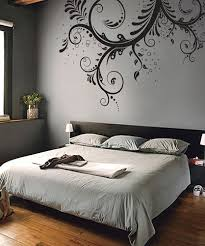 Stickerbrand Vinyl Wall Decal Sticker Swirl Flower Floral Design 262 Wall Decor Bedroom Wall Decals For Bedroom Bedroom Wall