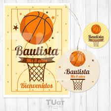 Kit Imprimible Basket Basquet Basketball Deportes M195 120 00