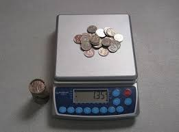 Image result for weigh coins