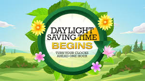 Daylight Saving Time comes this Sunday ...