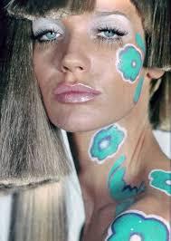 veruschka hippie makeup sixties style