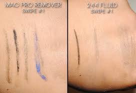 eye makeup remover vs alcone 244 fluid