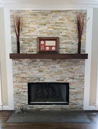walnut modern beam mantel black walnut