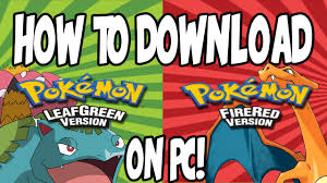How To Download Pokemon LeafGreen/FireRed On Pc (GBA Emulator ...