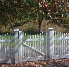 Vinyl Victorian Picket Fence Scalloped Gate Buy 2 For Double Drive Gates Fence Material
