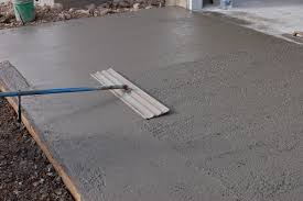 concrete for your storage shed floor