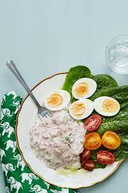 Keto Tuna Salad with Boiled Eggs ...