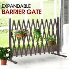 Security Gate Pet Safe Steel Trellis Fence Barrier Door Traffic Indoor Outdoor 9356877003950 Ebay