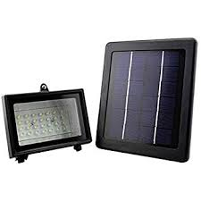 yn solar led flood light patio outdoor