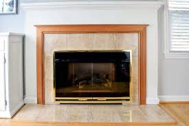 fireplace remodel final reveal the
