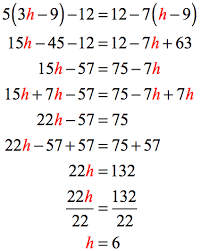 solving multi step equations chilimath