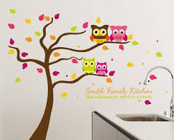 Family Kitchen Tree Wall Decal Family Tree Wall Decal