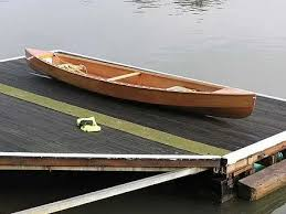 lightweighting a plywood canoe eureka