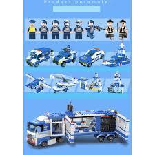 BỘ ĐỒ CHƠI XẾP HÌNH LEGO CẢNH SÁT THÀNH PHỐ POLICE 8IN1