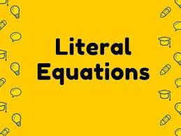literal equations calculator