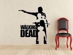 Amazon Com Hannah Larsen Walking Dead Wall Decal Horror Zombie Movie Vinyl Sticker Baby