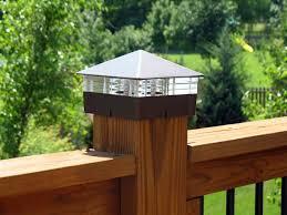 Custom Designed Deck Lights Lighted Post Caps Solar Deck Lights Deck Lighting Deck Post Lights