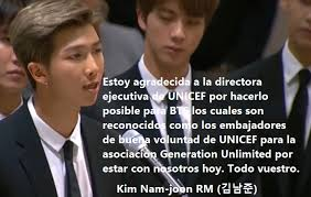 bts delivers inspiring speech to youth at united nations your