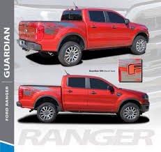 Guardian Ford Ranger Stripes Ford Ranger Decals Ranger Graphics
