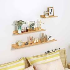 Floating Shelves Trays Bookshelves And Display Bookcase Modern Wood Shelving Units For Kids Bedroom Wall Mounted Storage Shelf Bookcases Aliexpress