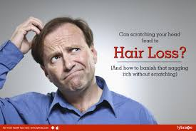 scratching your head lead to hair loss