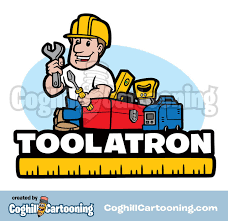 construction worker tools cartoon
