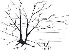"""Картинки по запросу """"осень рисунок простым карандашом"""""""